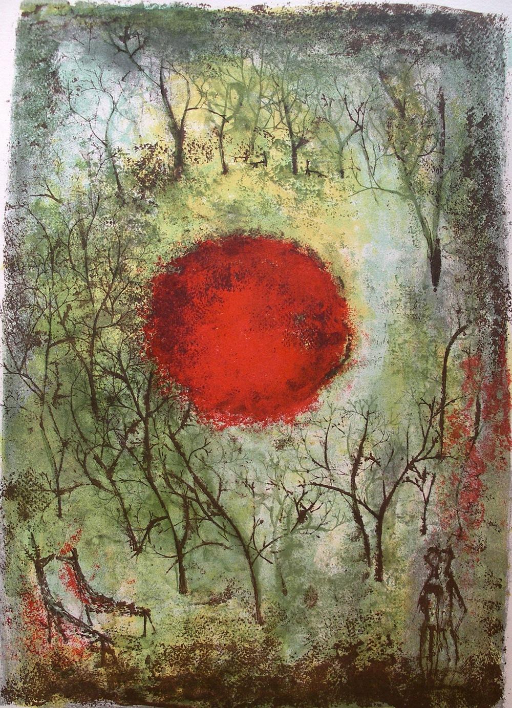 Картины Чжао Уцзи художник Zao Wou-Ki 2