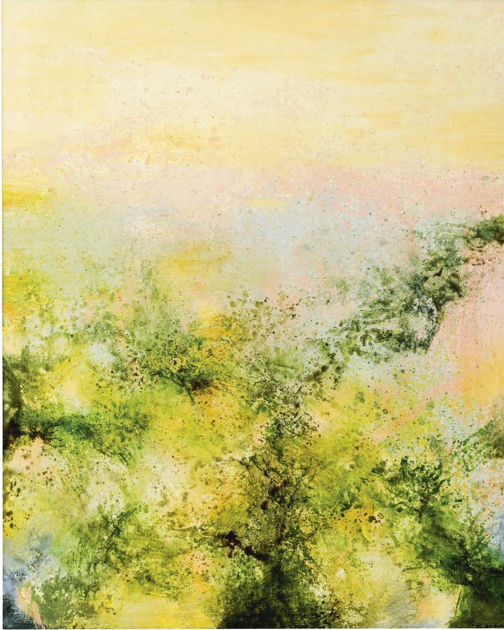 Картины Чжао Уцзи художник Zao Wou-Ki 14