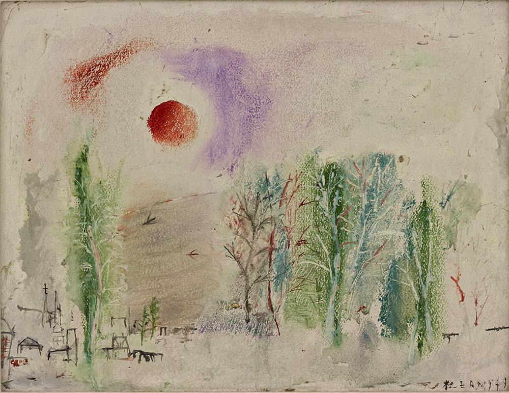 Картины Чжао Уцзи художник Zao Wou-Ki 34