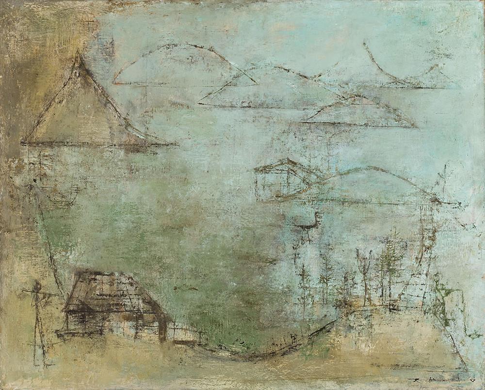 Картины Чжао Уцзи художник Zao Wou-Ki 35