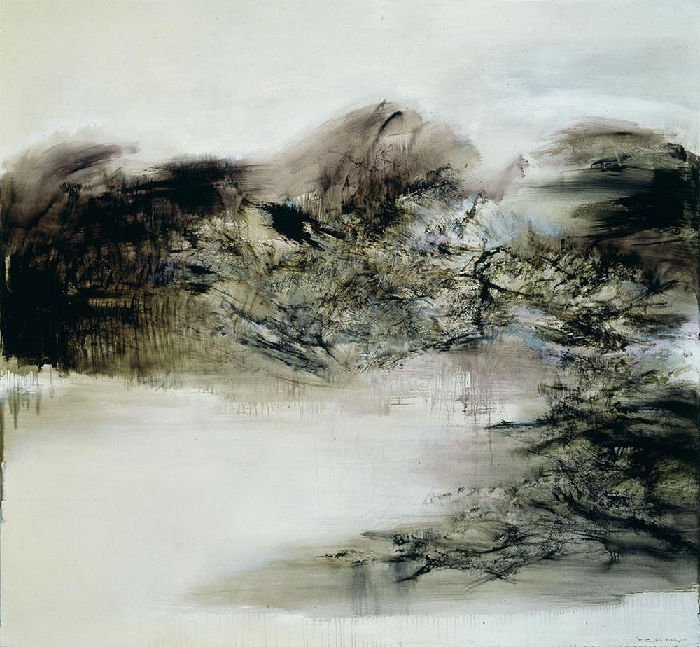 Картины Чжао Уцзи художник Zao Wou-Ki 46