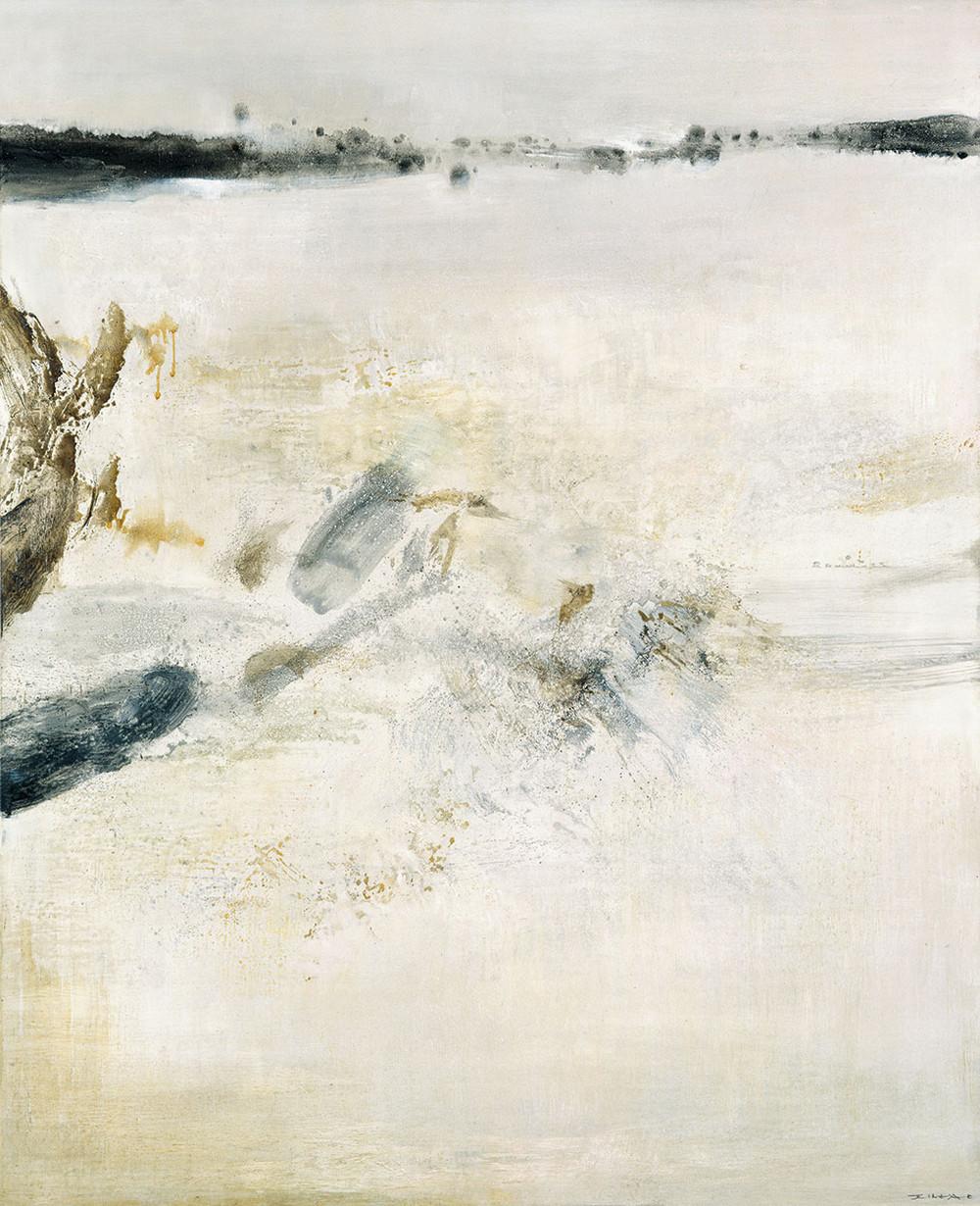 Картины Чжао Уцзи художник Zao Wou-Ki 48