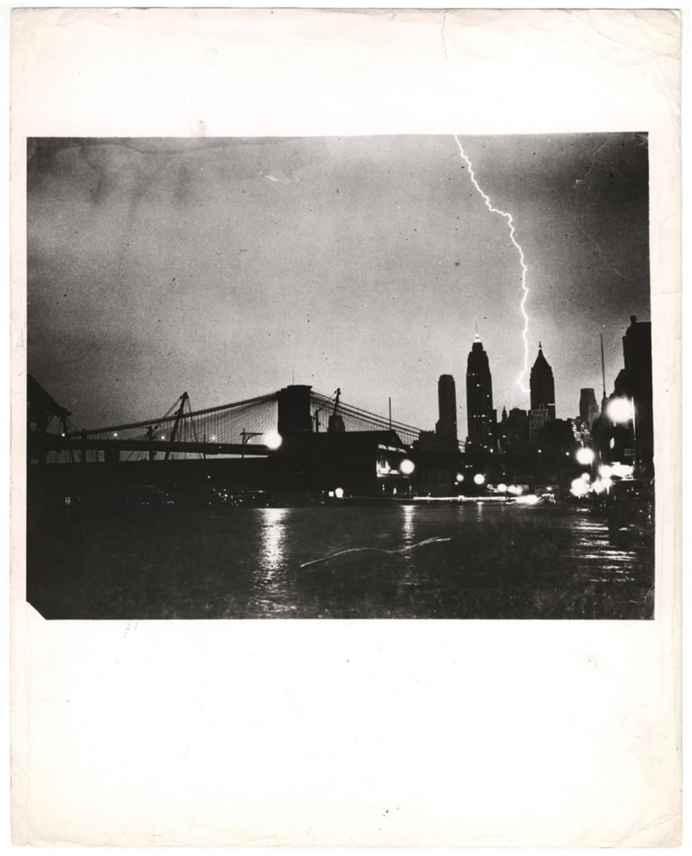 Молния, Манхэттен, Нью-Йорк, 1940