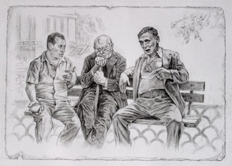 Хлёсткие иллюстрации к «Мастеру и Маргарите» от художника Александра Ботвинова  7