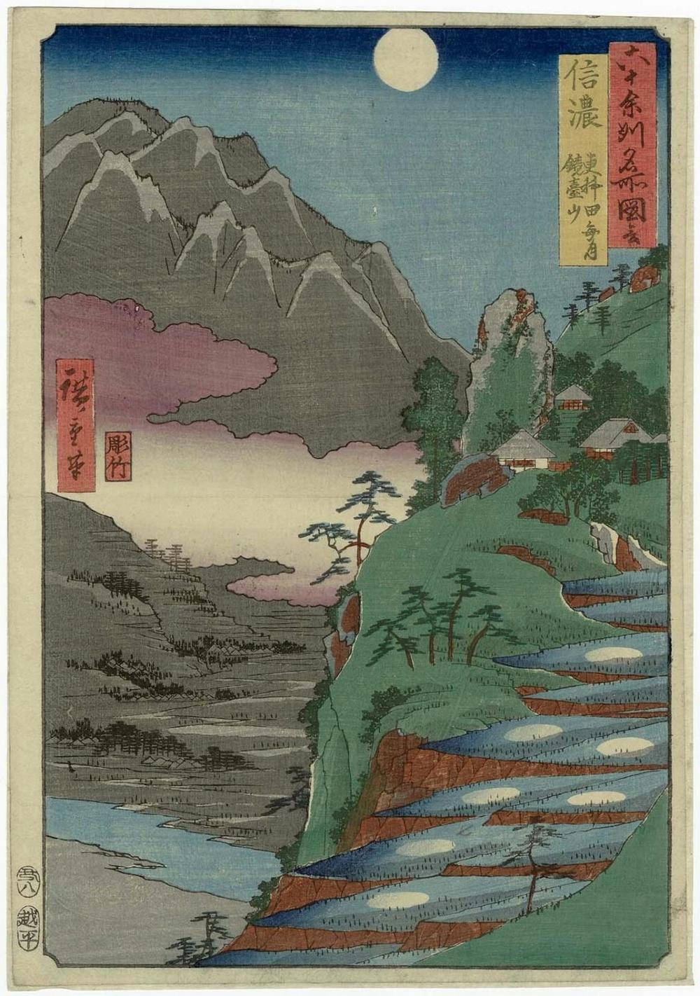 Онлайн-архив с 213 000 прекрасных японских гравюр с 1700-х по 1950-е 11
