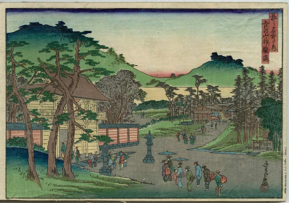 Онлайн-архив с 213 000 прекрасных японских гравюр с 1700-х по 1950-е 12
