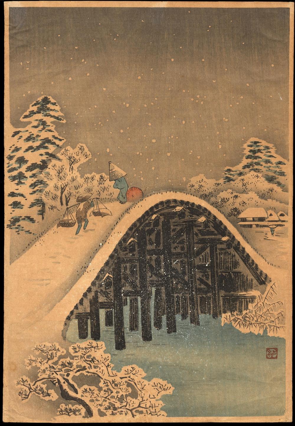 Онлайн-архив с 213 000 прекрасных японских гравюр с 1700-х по 1950-е 7