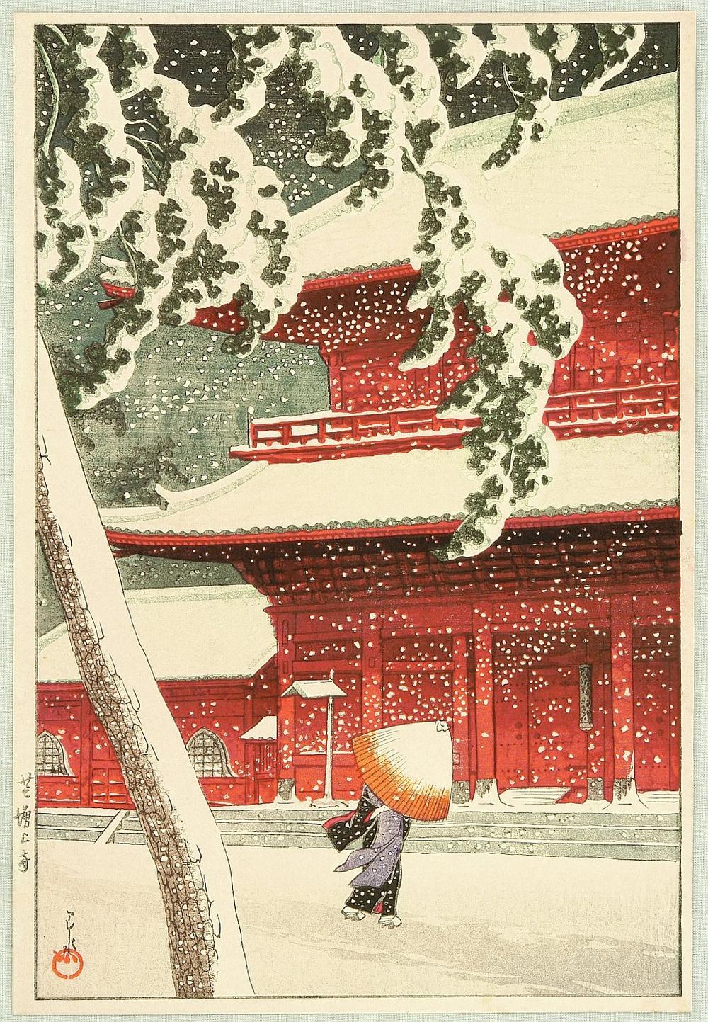 Онлайн-архив с 213 000 прекрасных японских гравюр с 1700-х по 1950-е 8