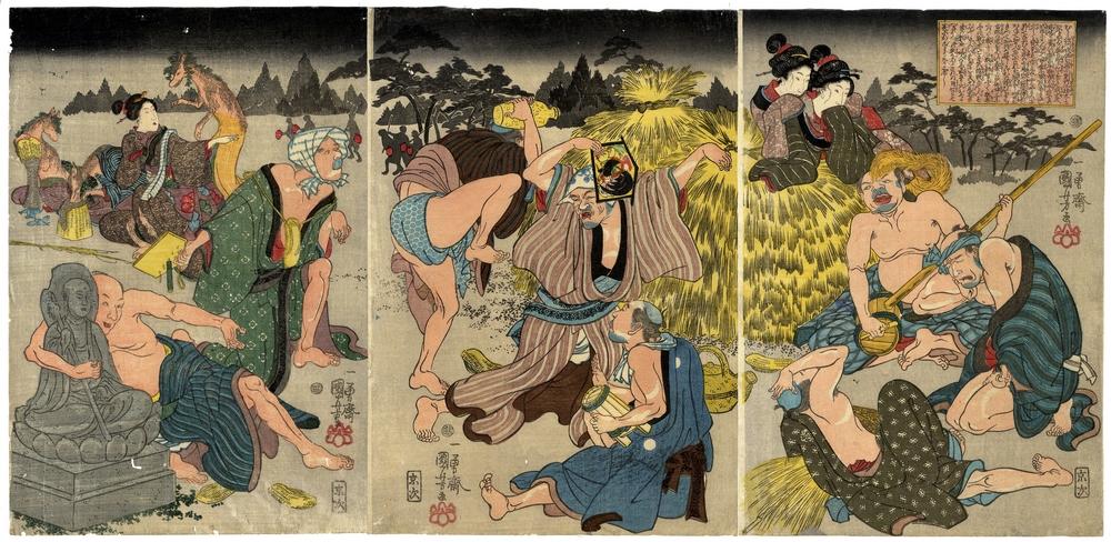 Онлайн-архив японских гравюр 8