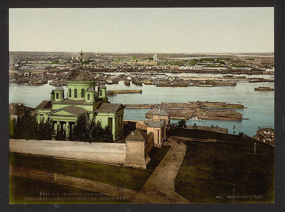 Blagoveshchenskomu monastyr Nigni-Novgorod