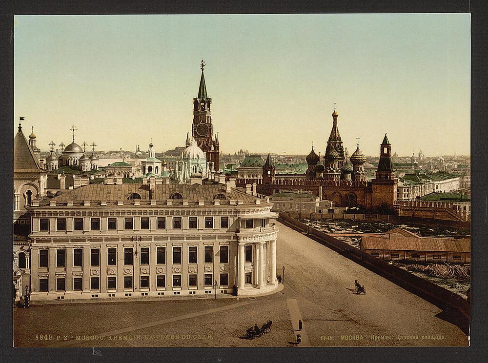 Ivanovskaia TCarskaia ploshchad kreml