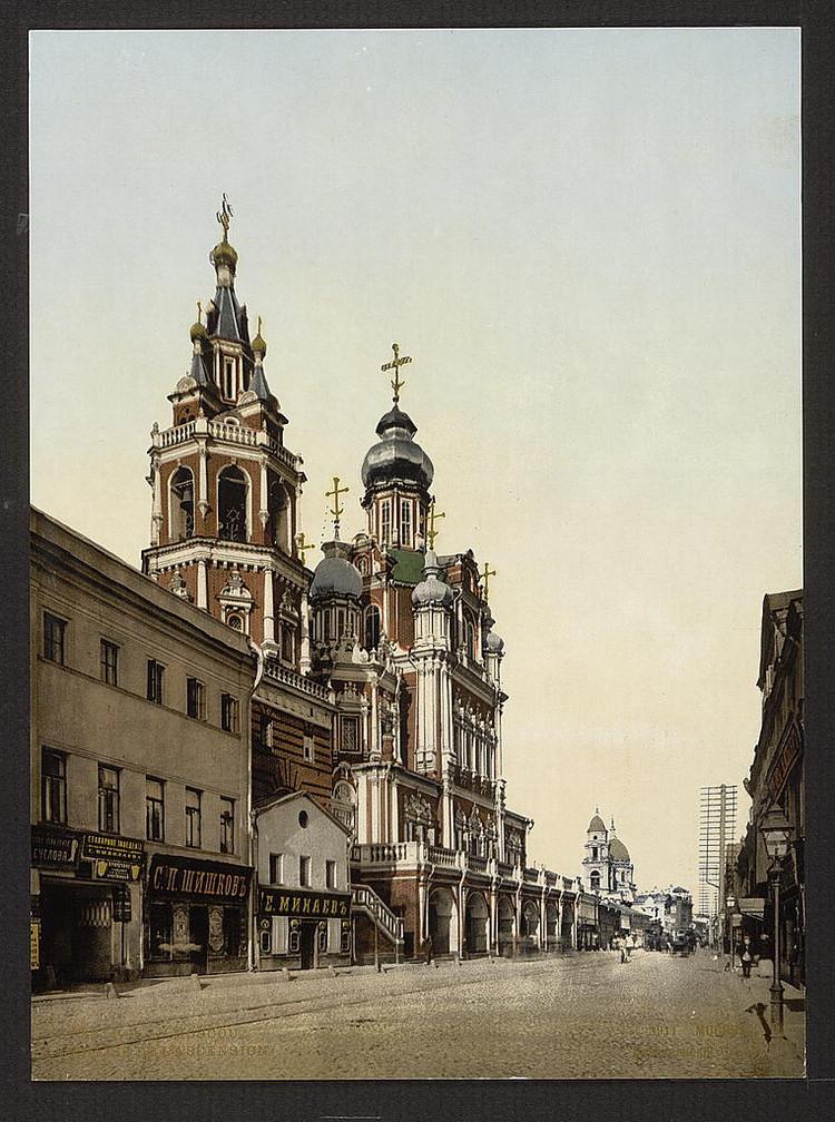 KHram Vozneseniia Moskva