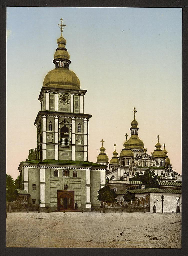 Mihailovskii monastyr Kiev 1