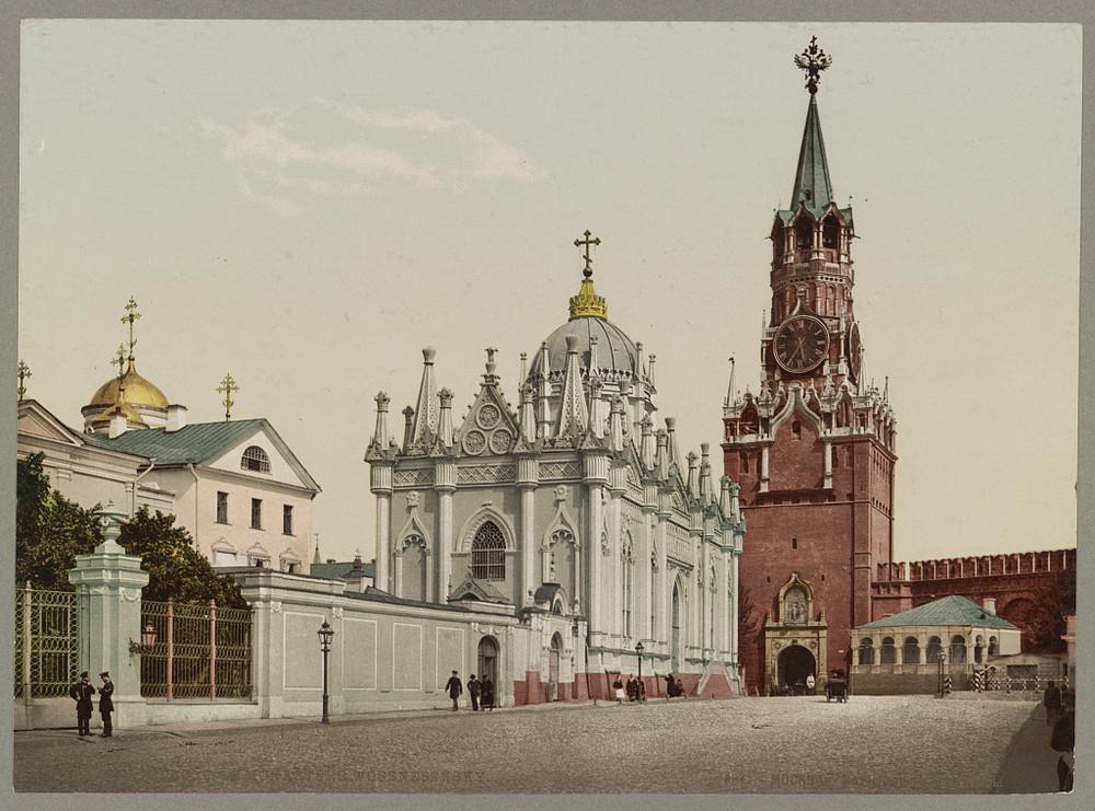 Moskva Monasty vossnesensky