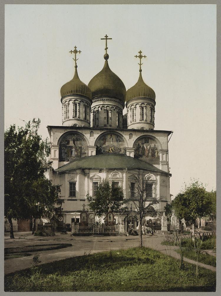 Novospasskii Monastyr moskva