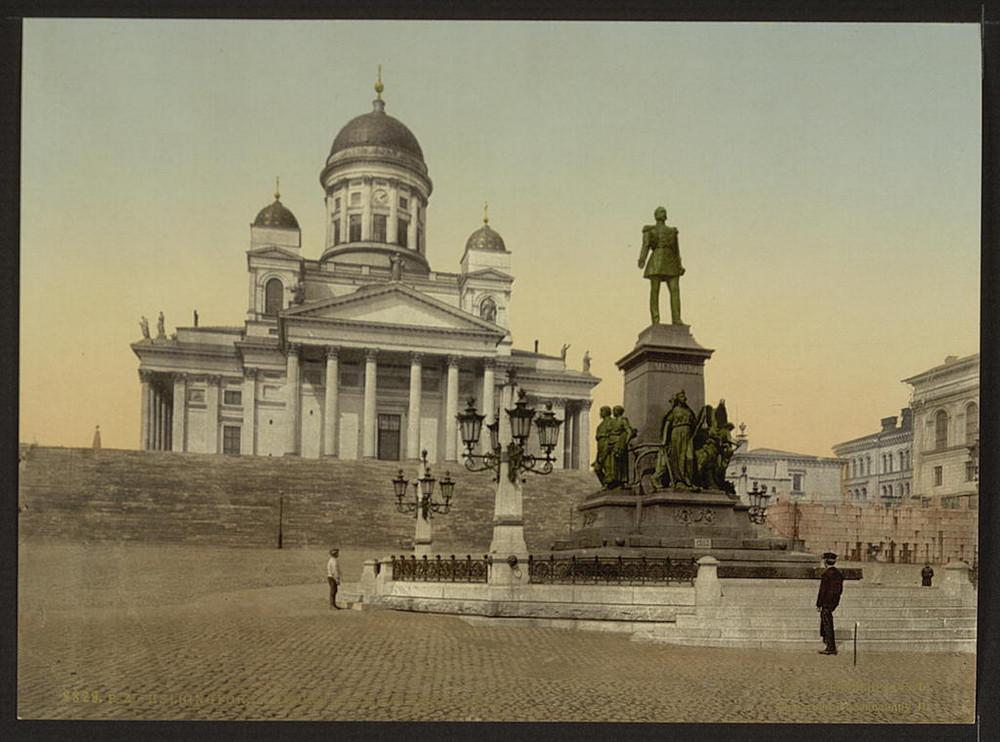 Pamiatneyk Alexanderu II v Gelsingforse
