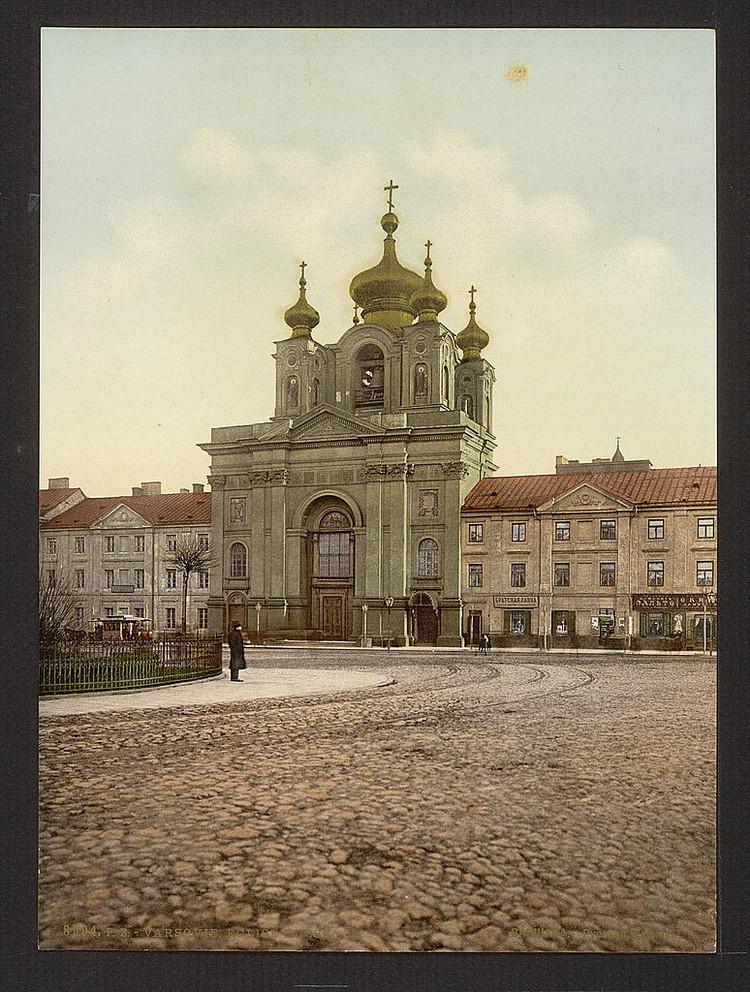 Russkoi Cerkvi Varshava Rossiia