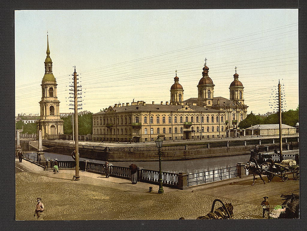 TCerkov Sv. Nicolaia Sankt-Peterburg