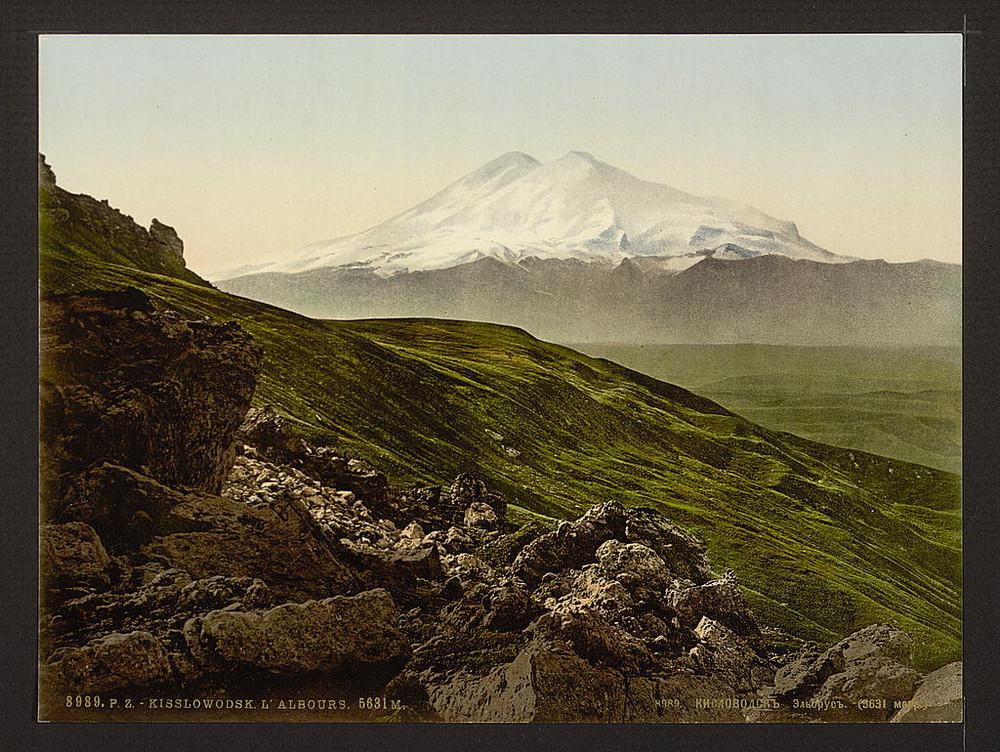 Vid na Elbrus Kislovodsk