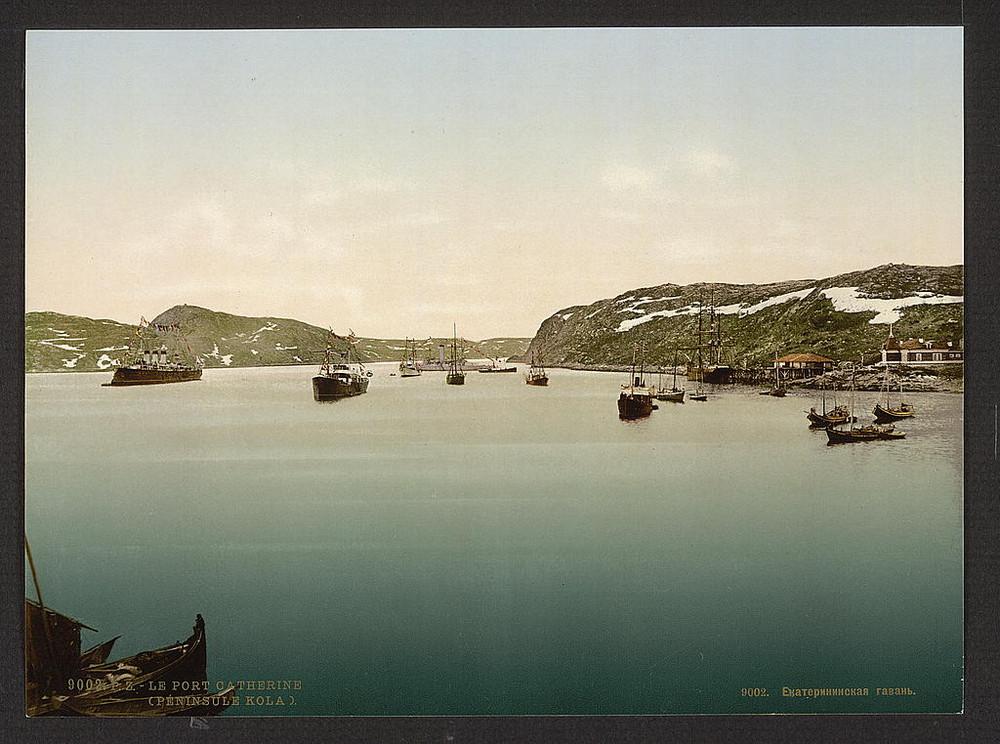 port Ekateriny Kolskii poluostrov