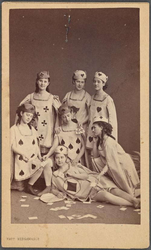 19-й век: балерины и монархи в фотографиях Карла Бергамаско  11