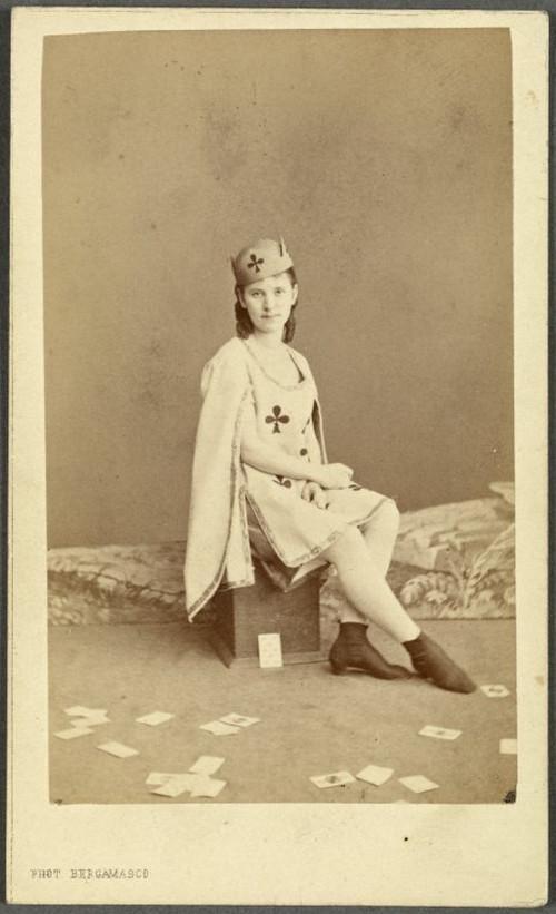 19-й век: балерины и монархи в фотографиях Карла Бергамаско  13