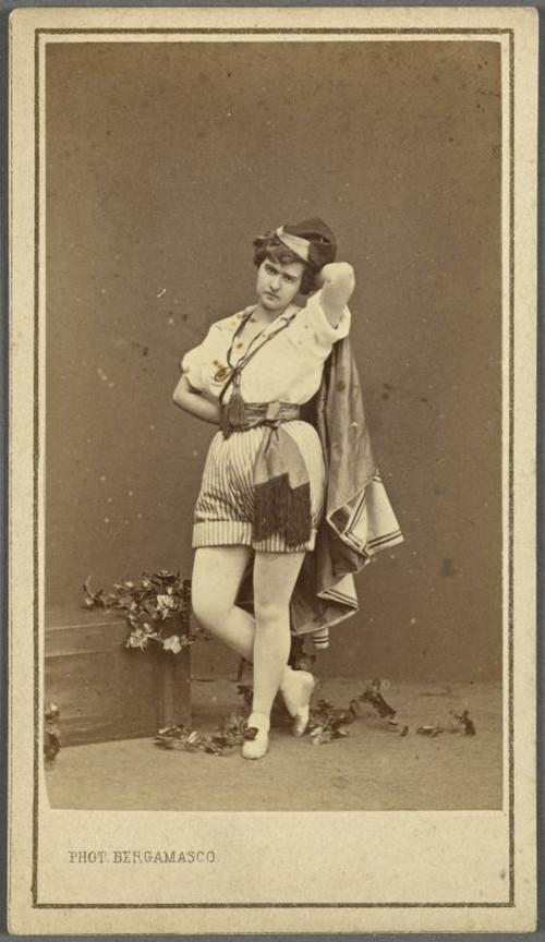 19-й век: балерины и монархи в фотографиях Карла Бергамаско  16