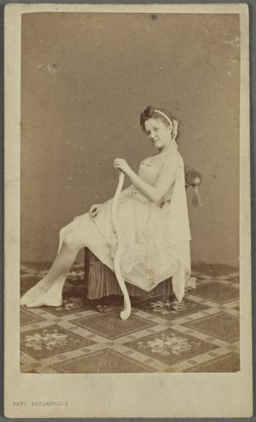 19-й век: балерины и монархи в фотографиях Карла Бергамаско  20