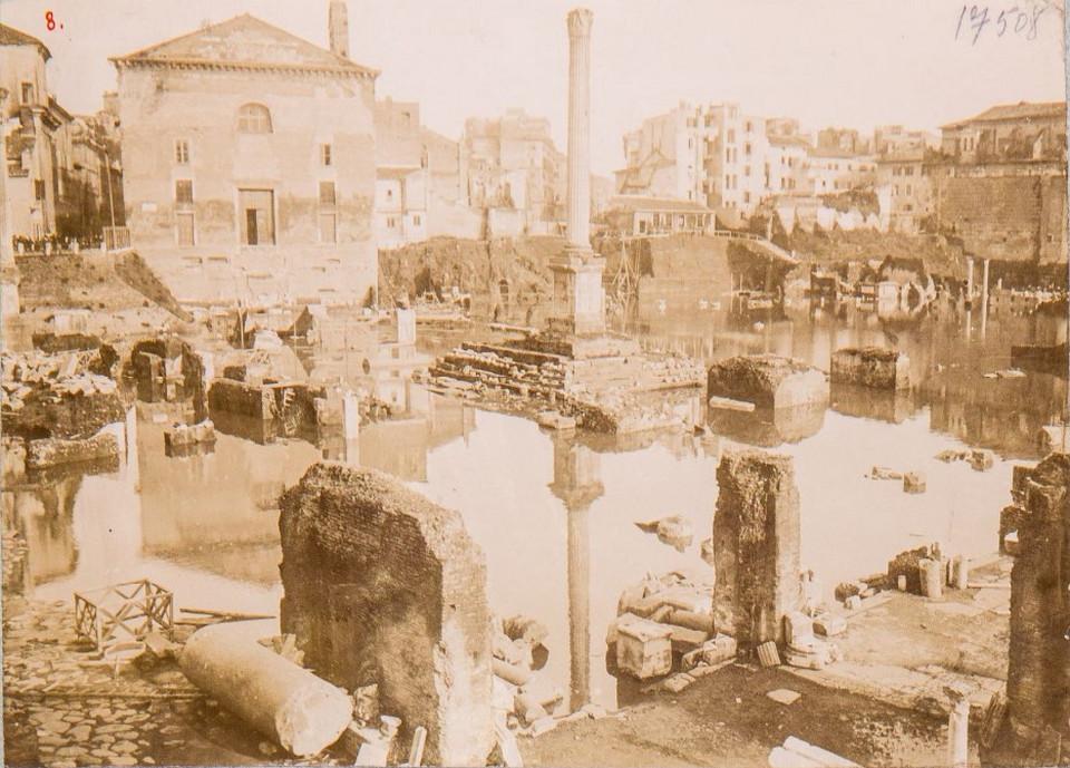Foro Romano panorama del Comizio