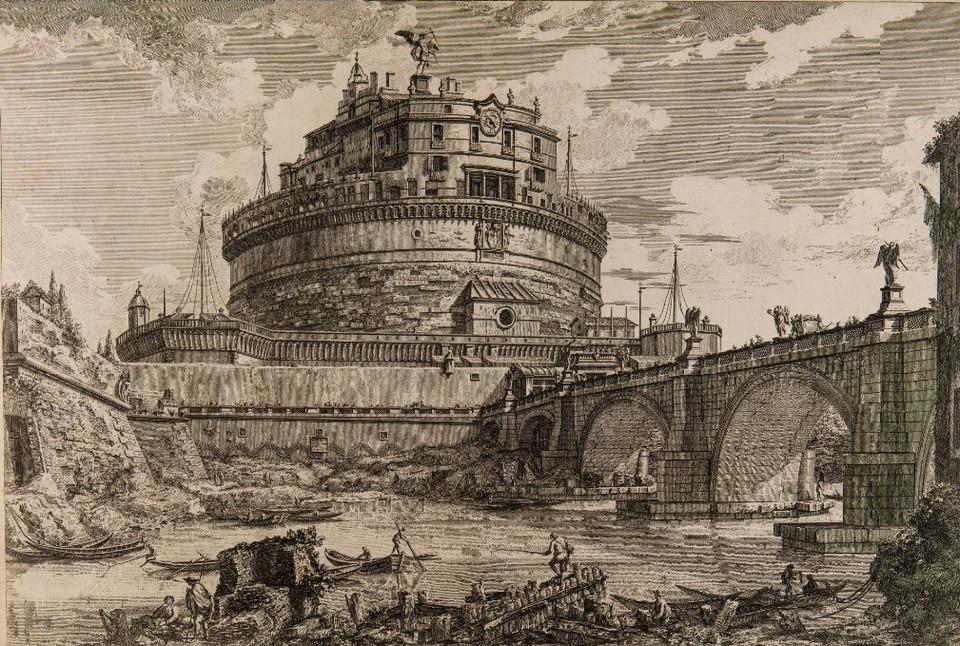 Veduta di Castel S Angelo