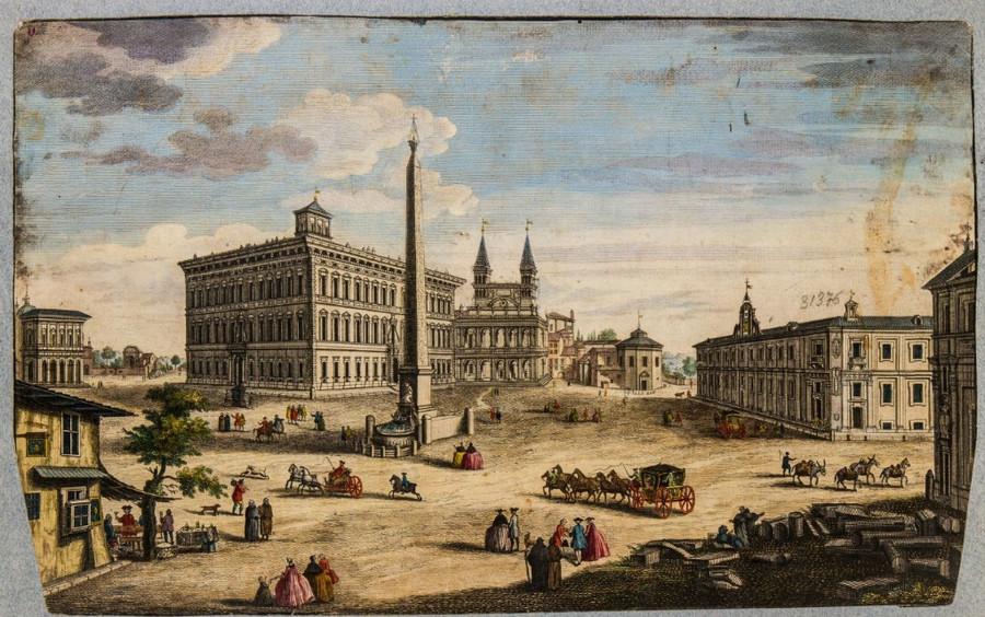 Как выглядел Рим с 16-го по 20-го век. Вечный город в 4000 изображений в открытом доступе  1