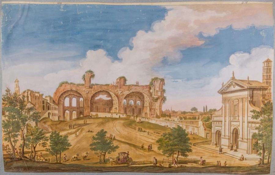Как выглядел Рим с 16-го по 20-го век. Вечный город в 4000 изображений в открытом доступе  2