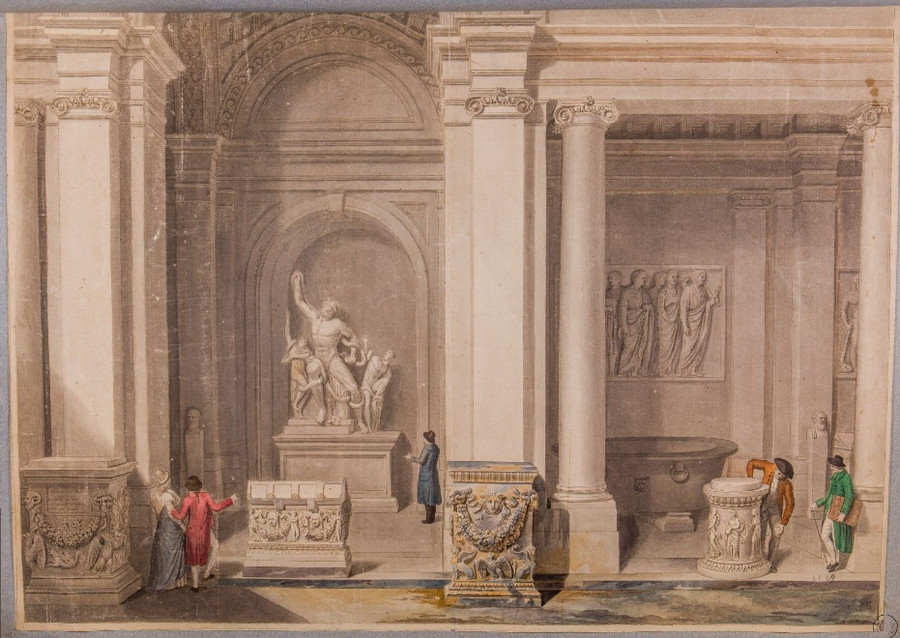 Как выглядел Рим с 16-го по 20-го век. Вечный город в 4000 изображений в открытом доступе  3