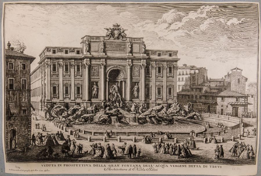 Как выглядел Рим с 16-го по 20-го век. Вечный город в 4000 изображений в открытом доступе  5