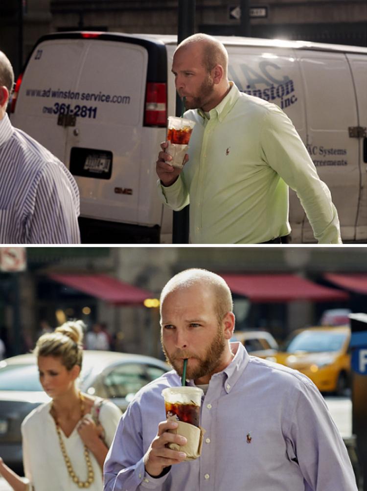 Фотограф 9 лет снимал одних и тех же людей, идущих на работу, и показал, как они изменились 23
