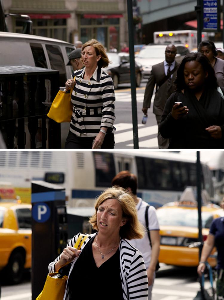 Фотограф 9 лет снимал одних и тех же людей, идущих на работу, и показал, как они изменились 25