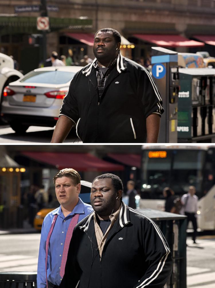 Фотограф 9 лет снимал одних и тех же людей, идущих на работу, и показал, как они изменились 26