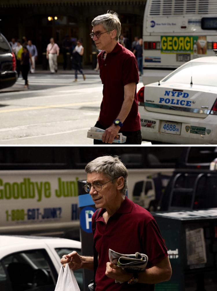 Фотограф 9 лет снимал одних и тех же людей, идущих на работу, и показал, как они изменились 27