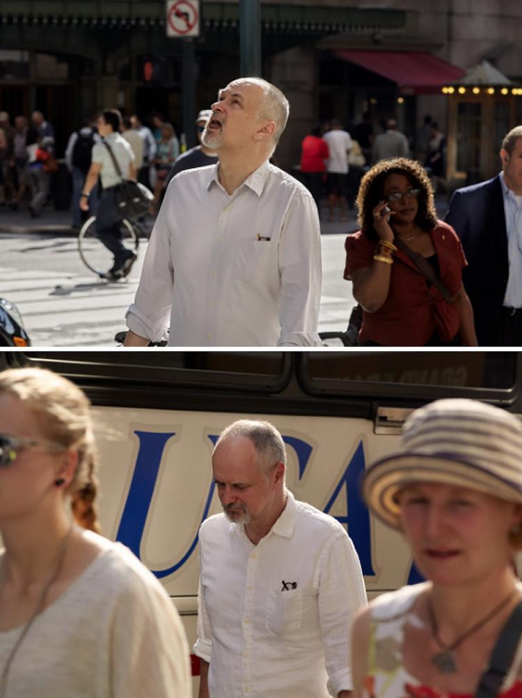 Фотограф 9 лет снимал одних и тех же людей, идущих на работу, и показал, как они изменились 28