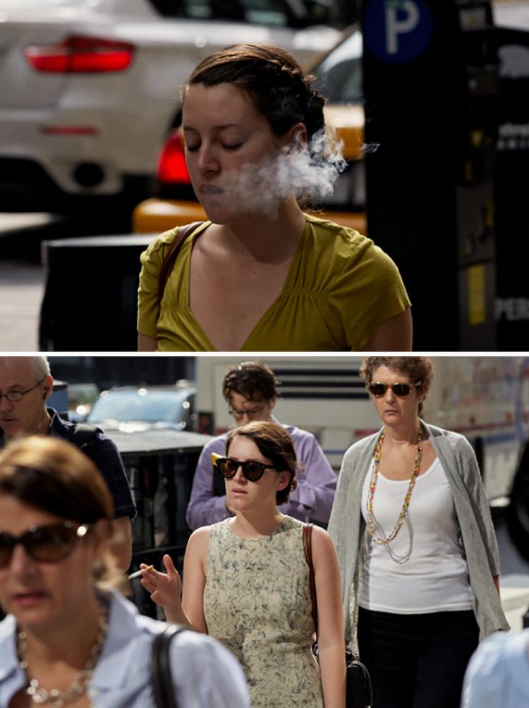 Фотограф 9 лет снимал одних и тех же людей, идущих на работу, и показал, как они изменились 29