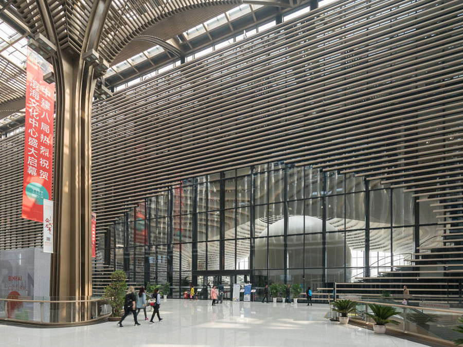 В Китае открылась крутейшая в мире библиотека с 1,2 миллионами книг 2