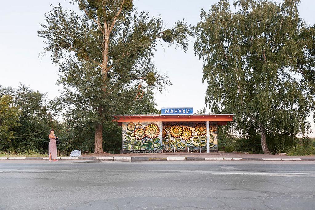 Советские автобусные остановки в фотографиях Кристофера Хервига 24