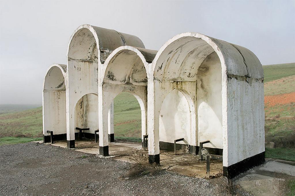 Советские автобусные остановки в фотографиях Кристофера Хервига 26