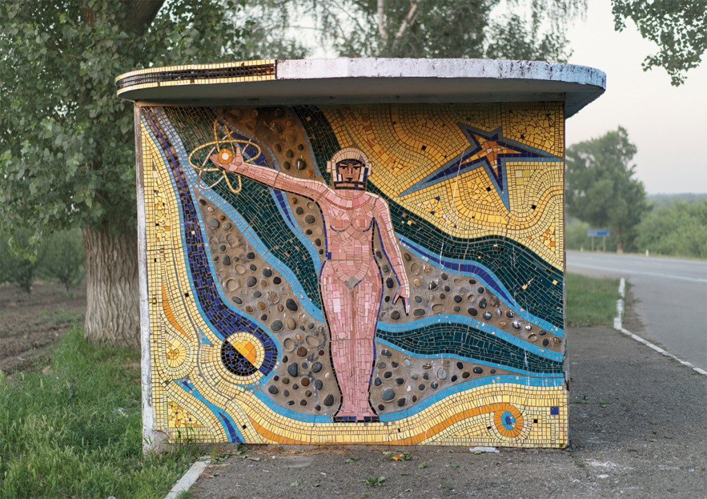 Советские автобусные остановки в фотографиях Кристофера Хервига 3