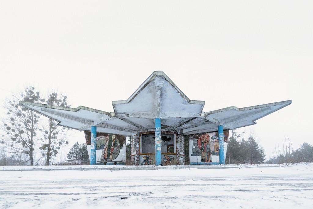 Советские автобусные остановки в фотографиях Кристофера Хервига 4