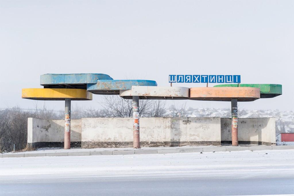 Советские автобусные остановки в фотографиях Кристофера Хервига 9