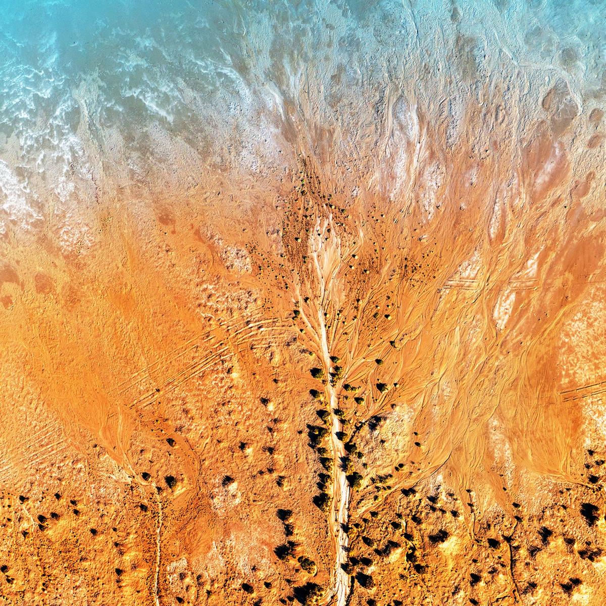 Озеро Эйр в аэрофотографиях  10