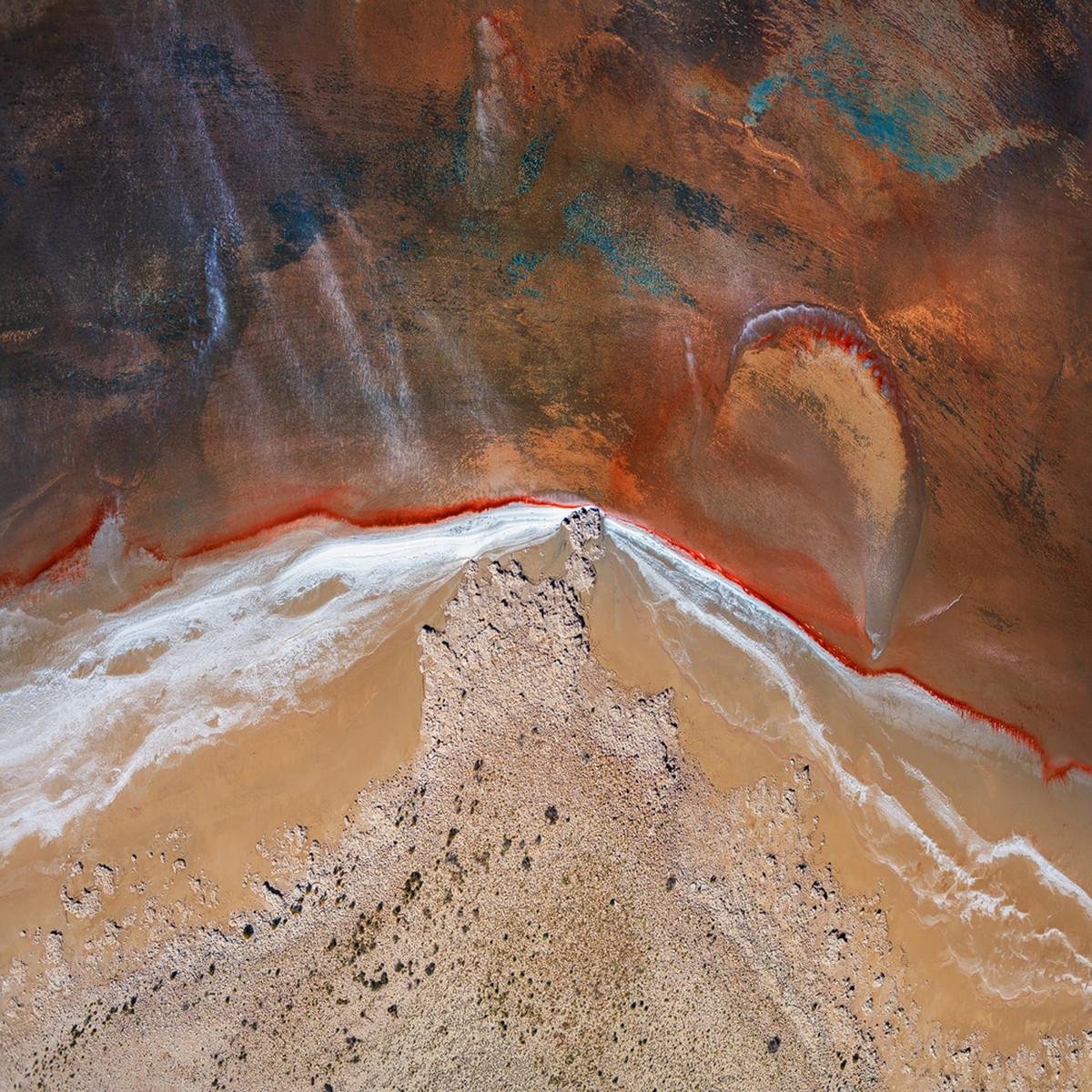 Озеро Эйр в аэрофотографиях 16