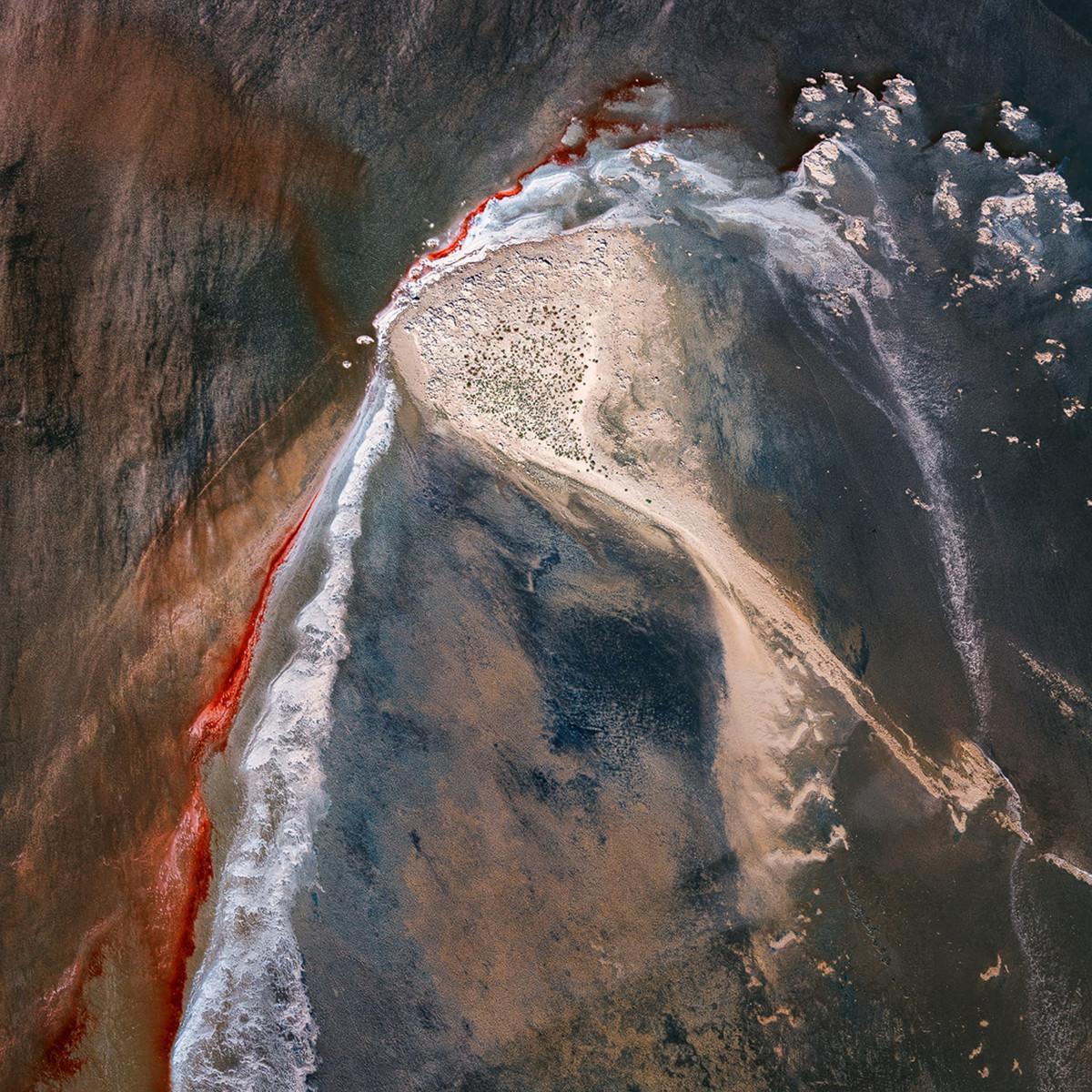 Озеро Эйр в аэрофотографиях  2