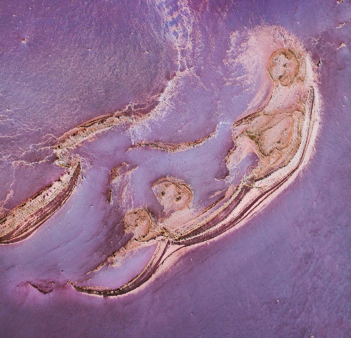 Озеро Эйр в аэрофотографиях 4